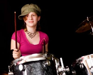Drum lessons for girls - Eden Prairie MN